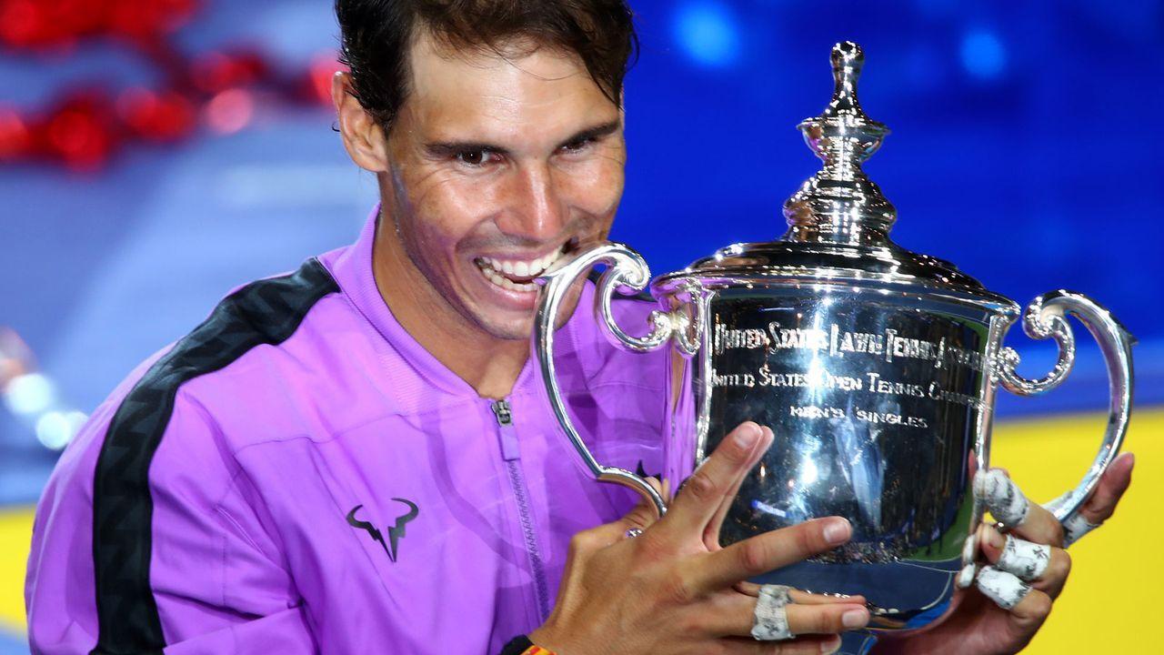 Platz 3: Rafael Nadal (Spanien) - Bildquelle: getty