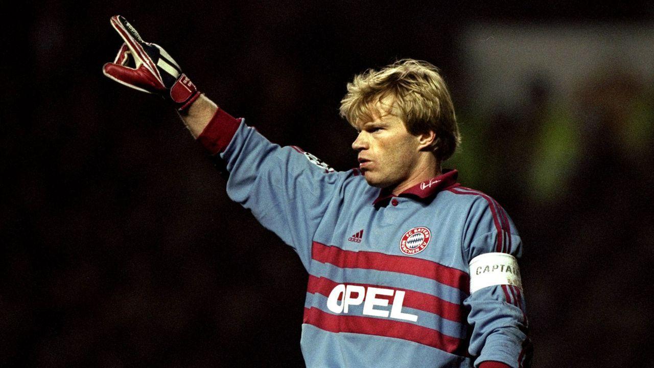 Platz 4: Oliver Kahn (FC Bayern München) - Bildquelle: Getty Images
