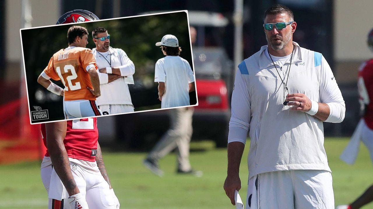 Mike Vrabel scherzt über Gespräch mit Bradys Sohn - Bildquelle: imago images/Icon SMI