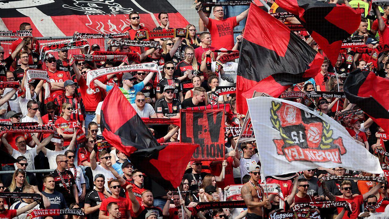 Platz 9: Bayer Leverkusen (BayArena)  - Bildquelle: 2019 Getty Images