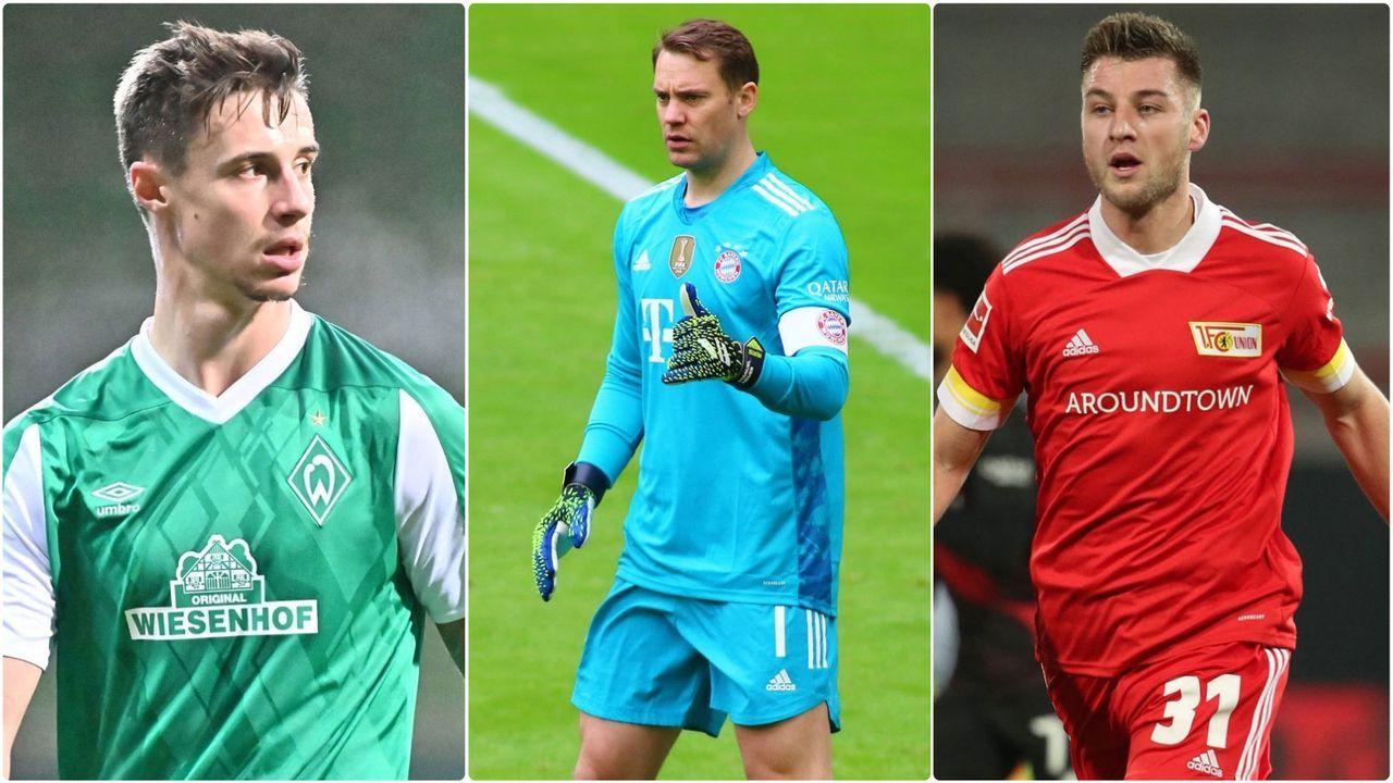 Die Dauerbrenner der Bundesligisten - Bildquelle: Imago Images/Imago Images/Imago Images