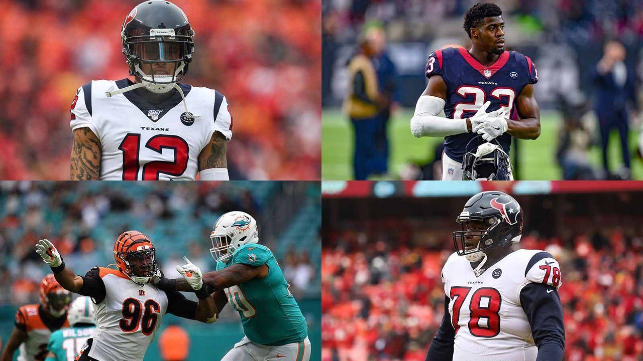 1. September 2019: Trade mit den Miami Dolphins: Tunsil, Stills, Rd4 Pick 20, Rd6 Pick 21 gegen Bademosi, Davenport, Rd1 Pick 20, Rd1 + Rd 2 Picks 21 - Bildquelle: imago, getty
