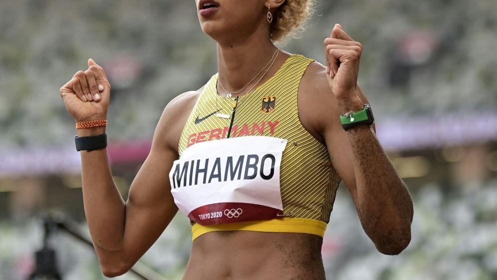 Malaika Mihambo steht im Weitsprung-Finale - Bildquelle: AFPSIDJAVIER SORIANO