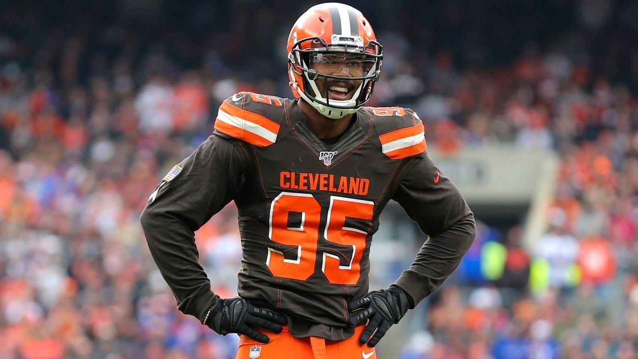 Platz 2: Myles Garrett (Defensive End, Cleveland Browns) - Bildquelle: imago images/Icon SMI