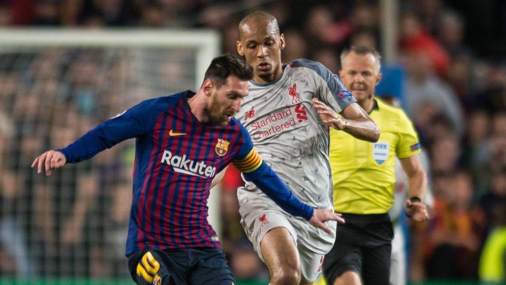 Messi Freistoß Liverpool