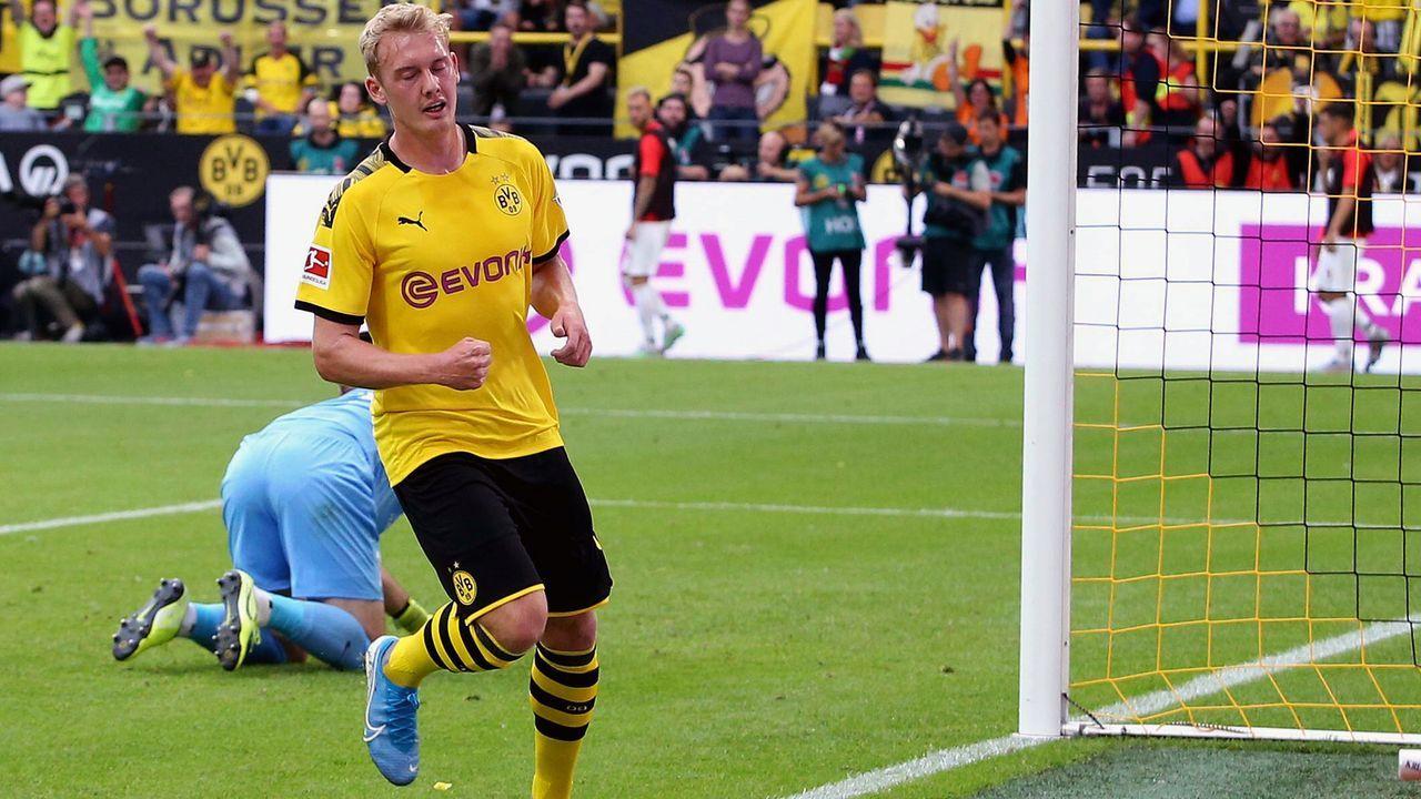 Julian Brandt (Borussia Dortmund) - Bildquelle: imago images / Jan Huebner