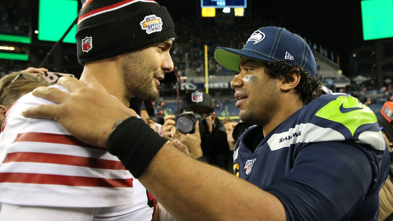 1. NFC West (San Francisco 49ers, Seattle Seahawks, Los Angeles Rams, Arizona Cardinals) - Bildquelle: 2019 Getty Images