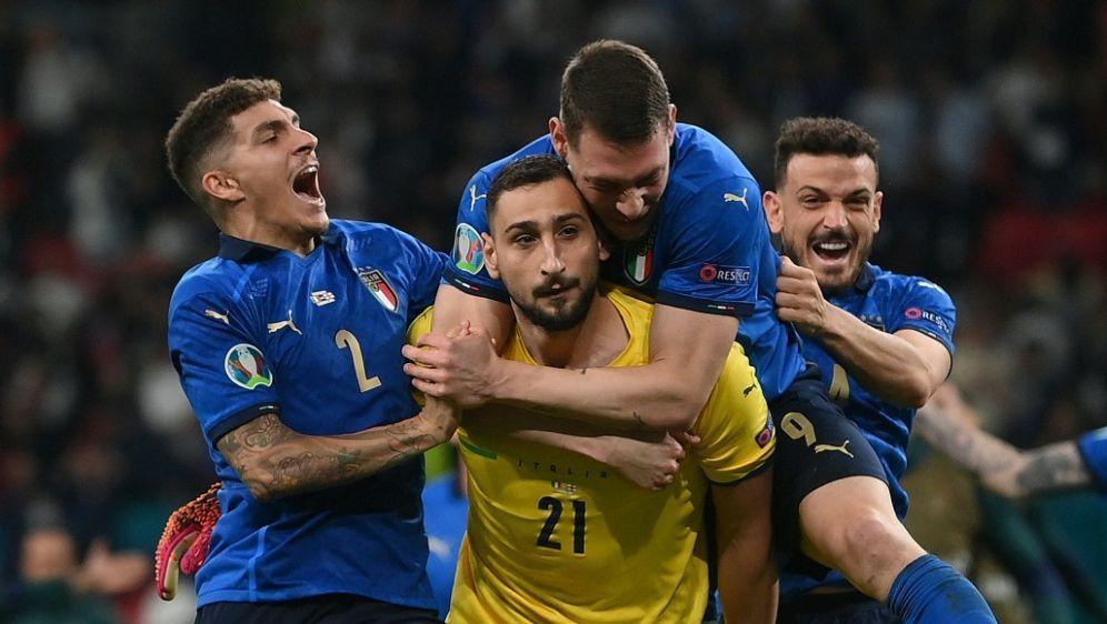 Donnarumma und vier Italiener im Team des Turniers - Bildquelle: AFPPOOLSIDLAURENCE GRIFFITHS