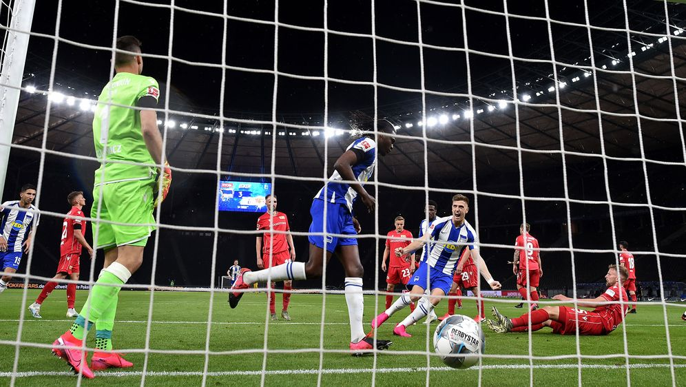 Der letzte Streich: Vier Tore schenkte die Hertha ihren Gästen von Union Ber... - Bildquelle: Getty Images