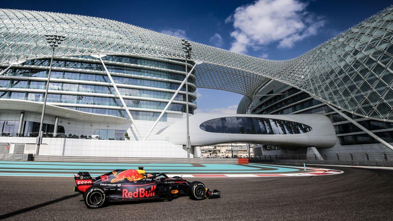 Yas Marina Circuit Abu Dhabi, Vereinigte Arabische Emirate  - Bildquelle: 2018 Getty Images