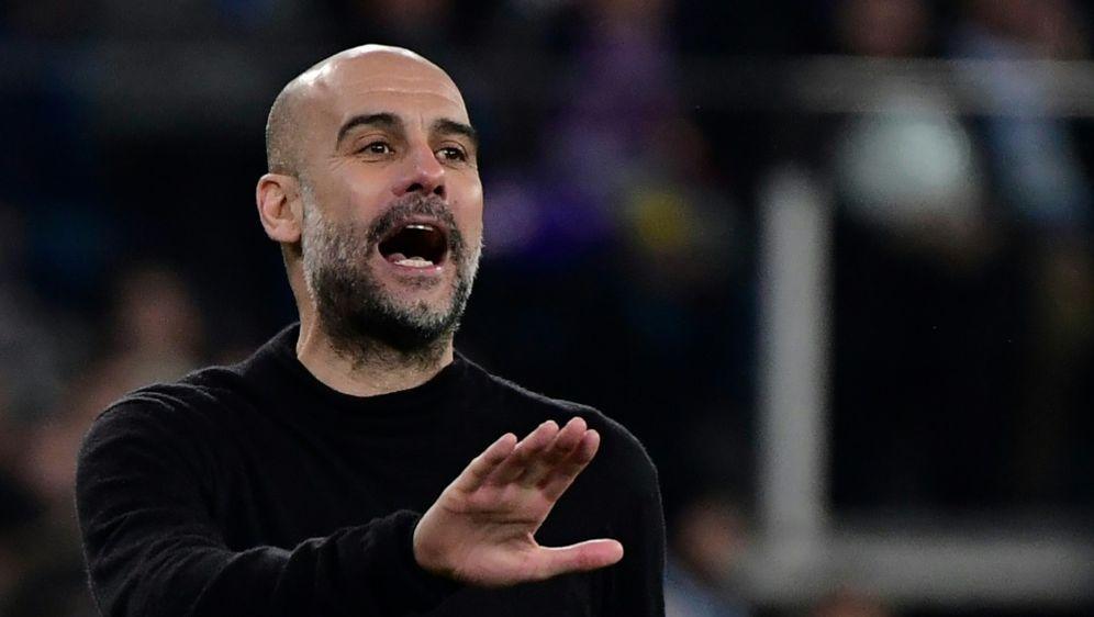 Ohne Champions-League-Sieg unzufrieden: Pep Guardiola - Bildquelle: AFPSIDJAVIER SORIANO