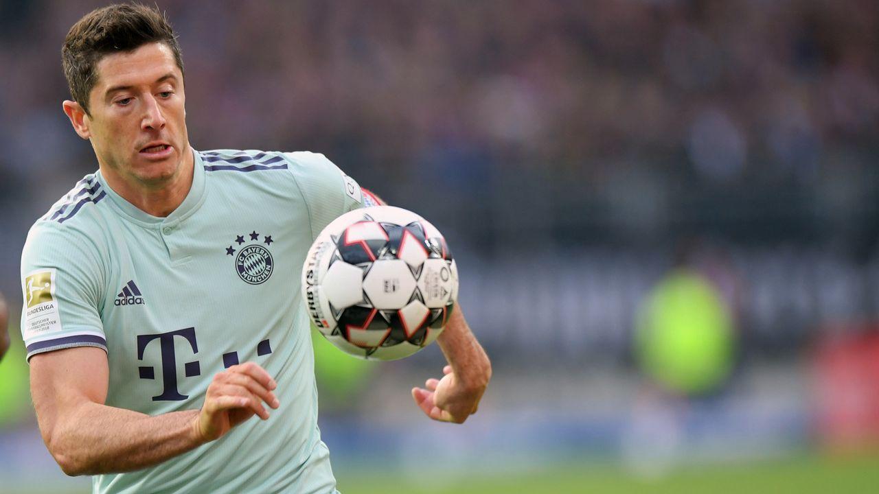 Platz 2 - Robert Lewandowski (FC Bayern München) - Bildquelle: 2019 Getty Images
