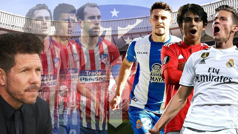 Können Joao Felix, Mario Hermoso und Co. die Erwartungen bei Atletico erfüll... - Bildquelle: Imago Images