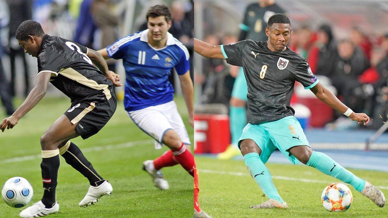 David Alaba in der österreichischen Nationalmannschaft - Bildquelle: getty/imago