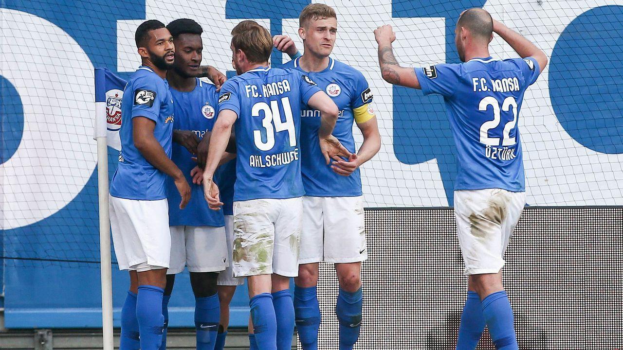 Hansa Rostock (46 Punkte, Platz 5) - Bildquelle: imago images / Picture Point