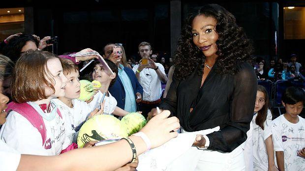Serena Williams sieht Schwarz-Weiß - Bildquelle: Getty Images