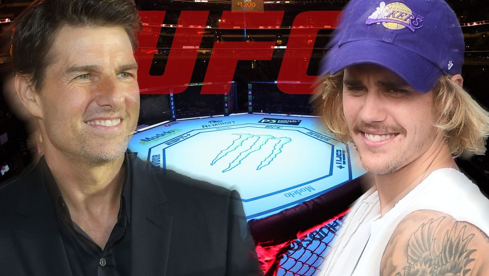 Steigen Tom Cruise und Justin Bieber tatsächlich ins Ocatagon? Es sieht so a... - Bildquelle: Getty Images