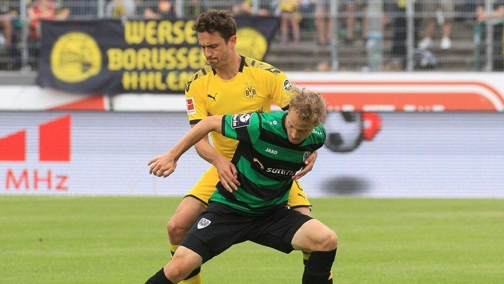 Der BVB gewinnt souverän gegen Preußen Münster - Bildquelle: FIROFIROSID