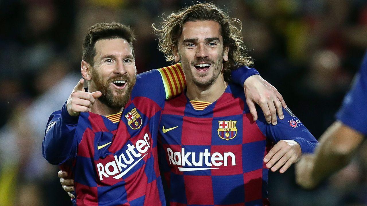 Platz 3 - FC Barcelona - Bildquelle: 2019 Getty Images