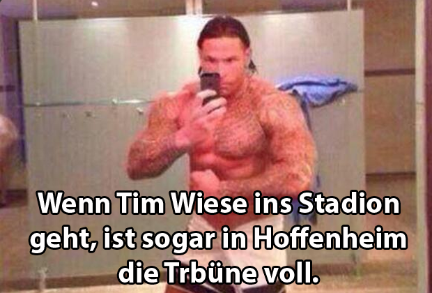 So lacht das Netz über Tim Wiese - Bildquelle: twitter