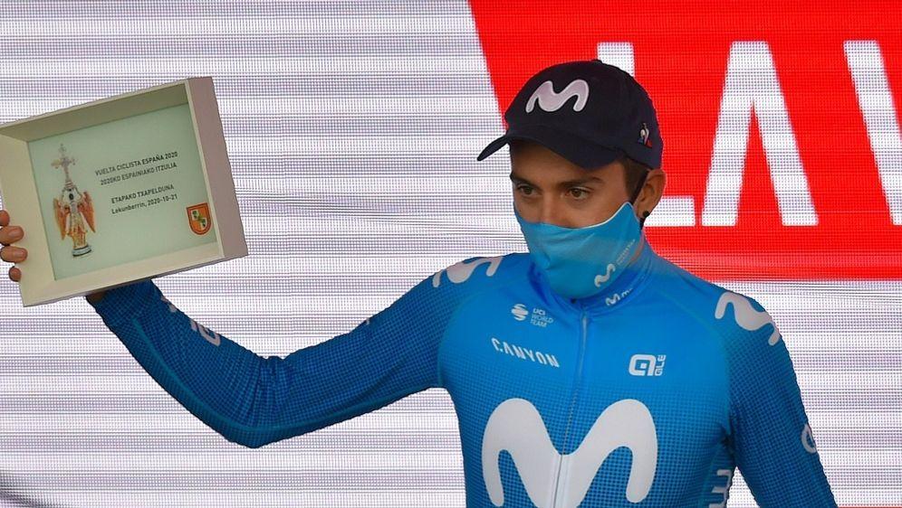 Der Spanier Marc Soler gewinnt die zweite Vuelta-Etappe - Bildquelle: AFPSIDANDER GILLENEA