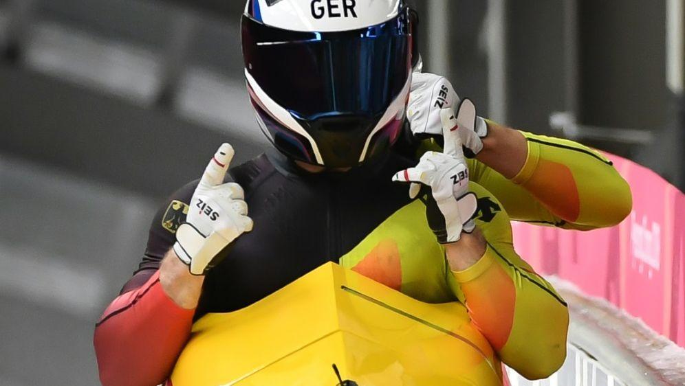 Francesco Friedrich feiert Doppelsieg in Sigulda - Bildquelle: AFPSIDMARK RALSTON