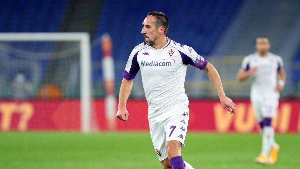 Franck Ribery wurde zur Halbzeit ausgewechselt - Bildquelle: FIROFIROSID