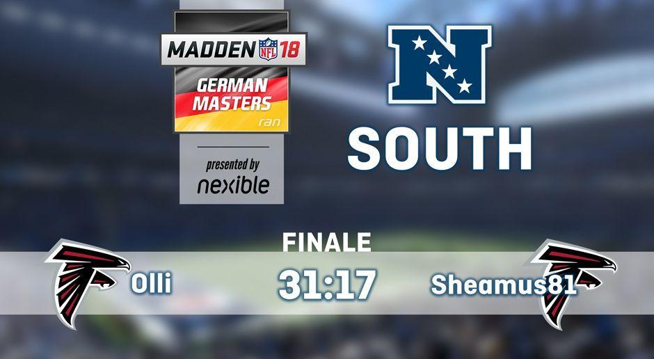 NFC South-Gewinner - Bildquelle: ran.de