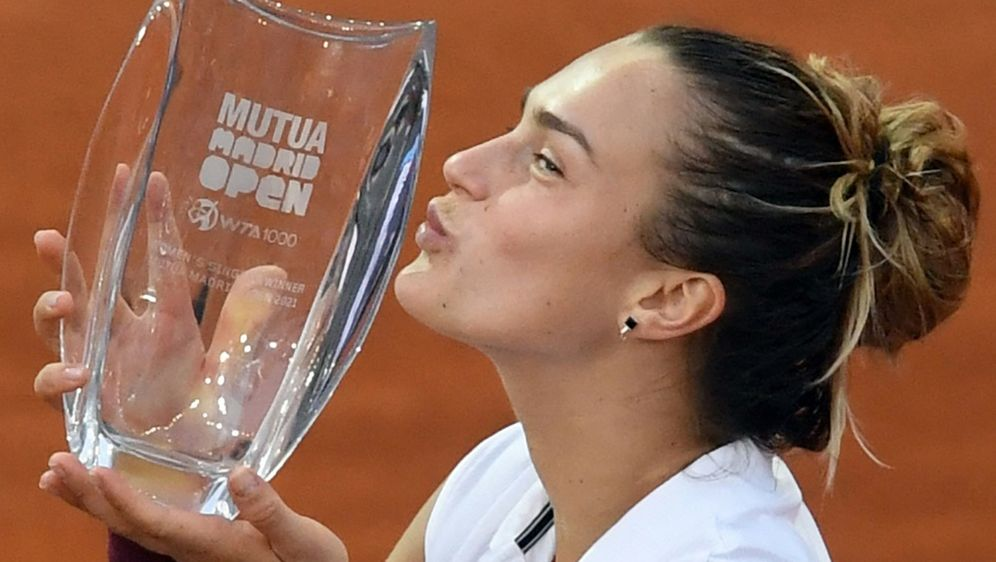 Hat das WTA-Turnier in Madrid gewonnen: Aryna Sabalenka - Bildquelle: AFPSIDOSCAR DEL POZO