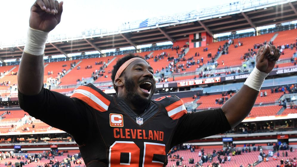 Myles Garrett wurde im Draft 2017 von den Cleveland Browns an erster Stelle ... - Bildquelle: 2018 Getty Images