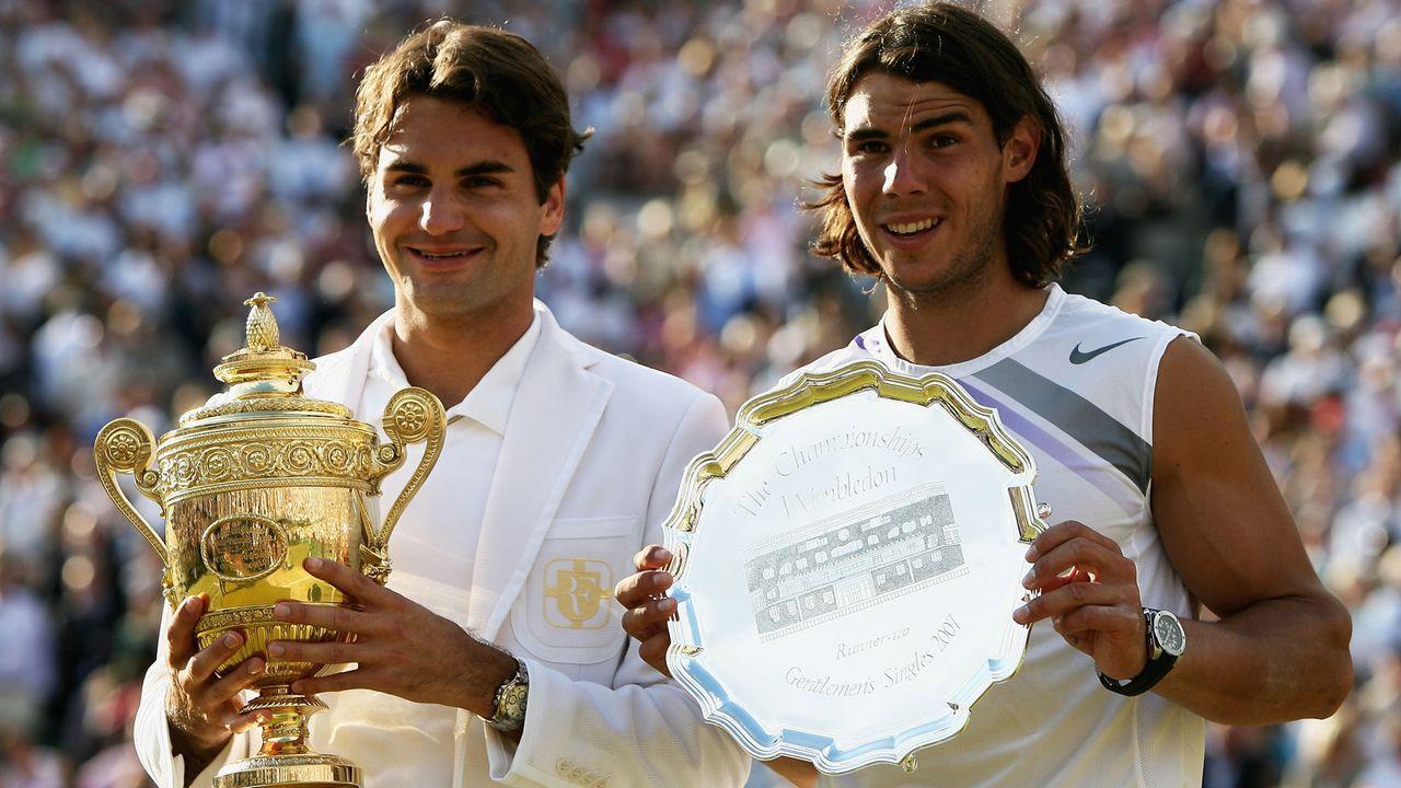2007: Finale von Wimbeldon - Bildquelle: 2007 Getty Images