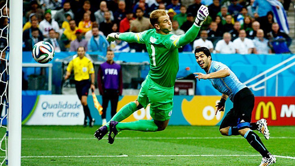 Superstar Luis Suarez ballert Uruguay quasi im Alleingang zum Sieg gegen Eng... - Bildquelle: Getty