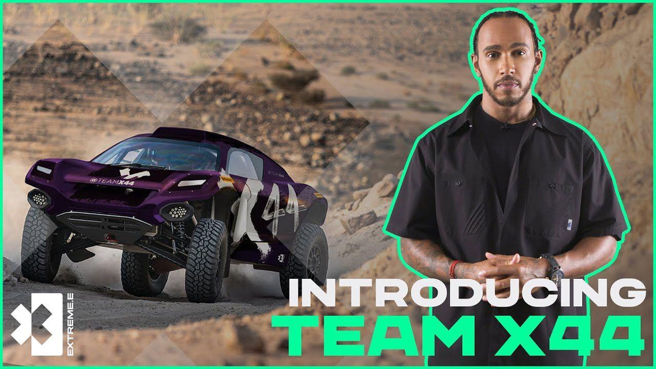 Lewis Hamilton - Bildquelle: Extreme E