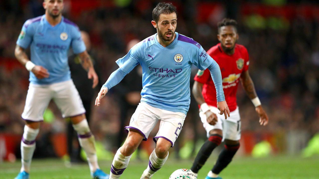Platz 22 - Bernardo Silva (Manchester City) - Bildquelle: 2020 Getty Images