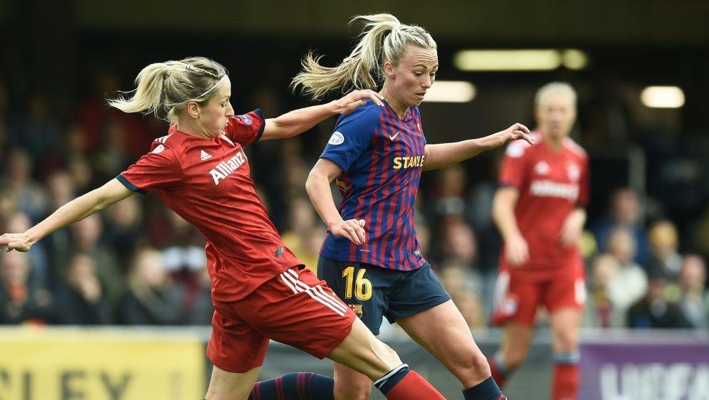 Die UEFA will den Frauenfußball weiter fördern - Bildquelle: AFPSIDJOSEP LAGO