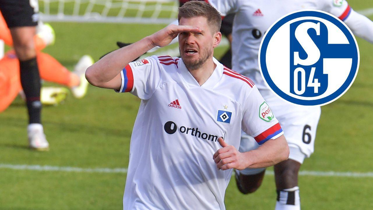 Simon Terodde (Hamburger SV) - Bildquelle: Imago