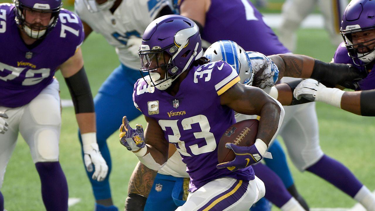 Rushing Offense: Minnesota Vikings - 39 Punkte  - Bildquelle: 2020 Getty Images