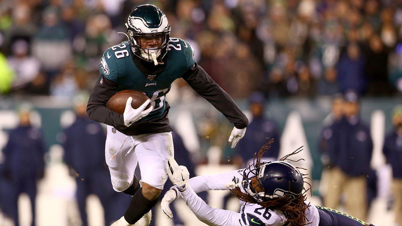 Running Back: Miles Sanders (Philadelphia Eagles) - Bildquelle: Getty Images