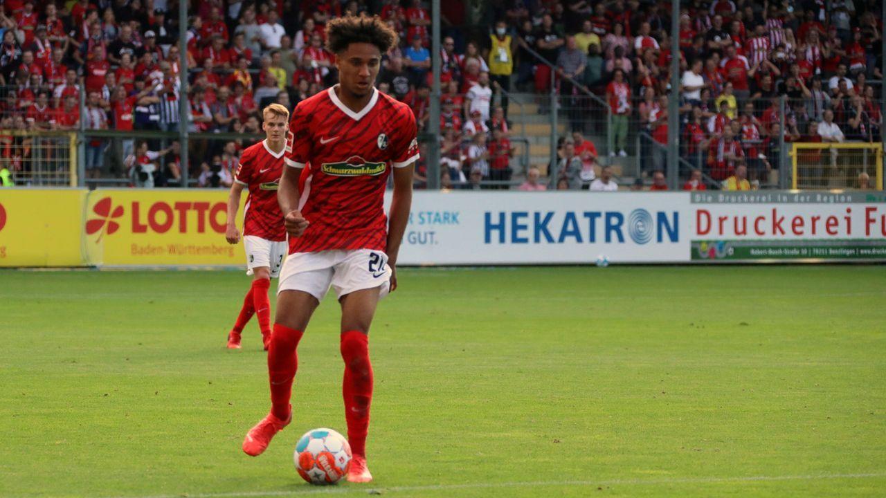 Kevin Schade (SC Freiburg) - Bildquelle: imago images/Eibner