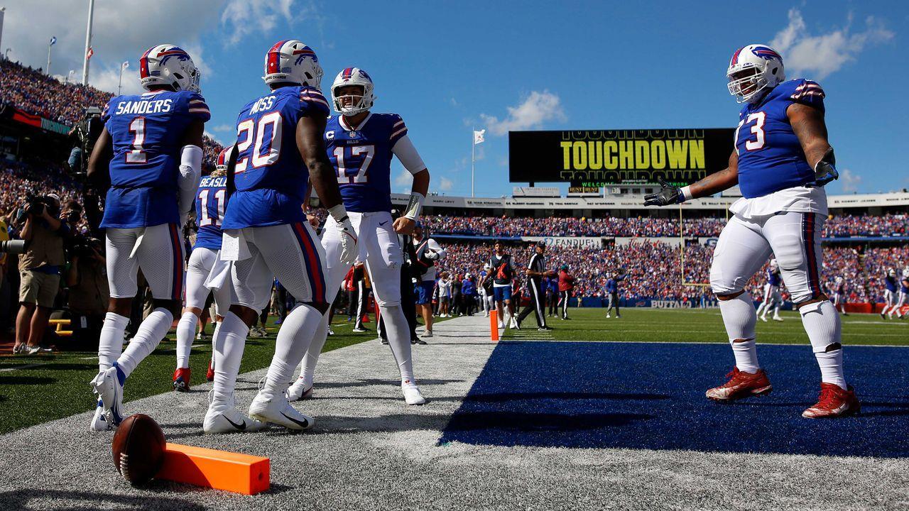 Passing Offense: Buffalo Bills - Bildquelle: 2021 Getty Images