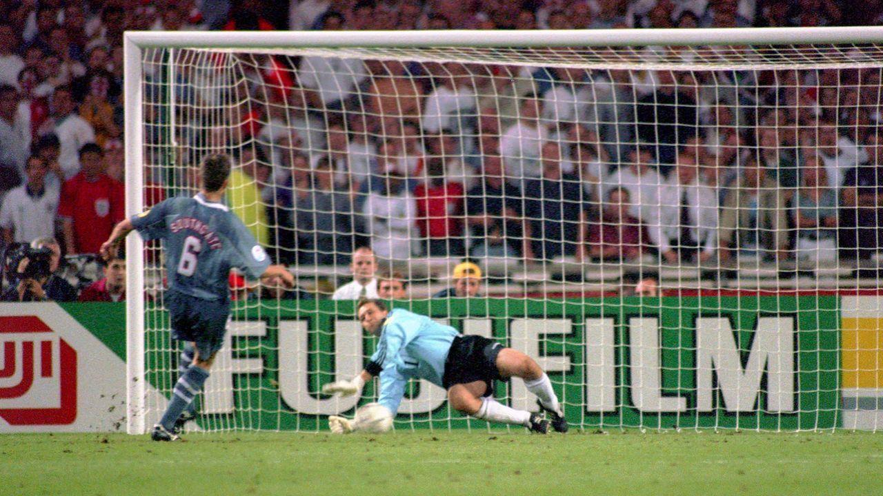 Englisches Deja-Vu im Halbfinale - Bildquelle: 1996 imago