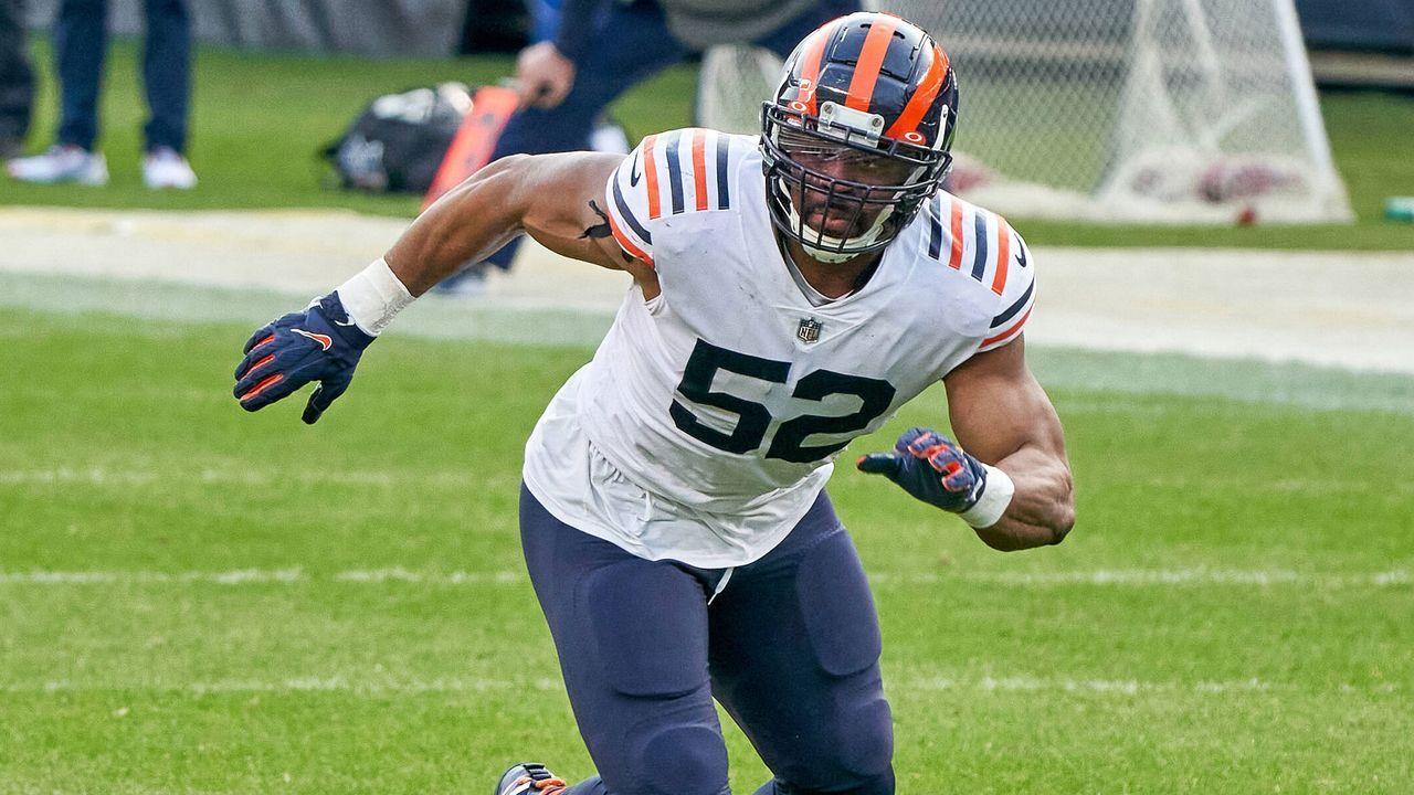 Platz 6: Khalil Mack (Linebacker/ Defensive End, Chicago Bears) - Bildquelle: imago images/Icon SMI