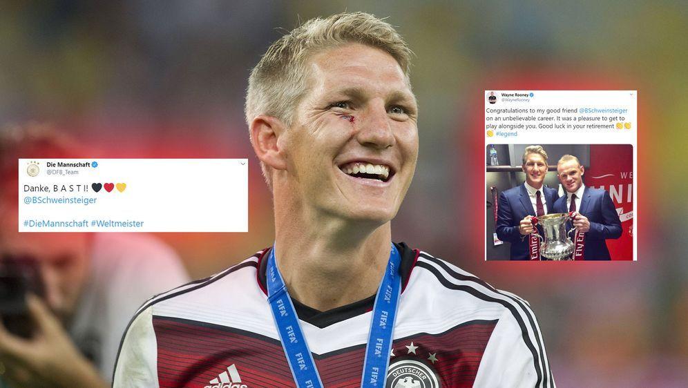 Bastian Schweinsteiger beendet seine Karriere. - Bildquelle: imago