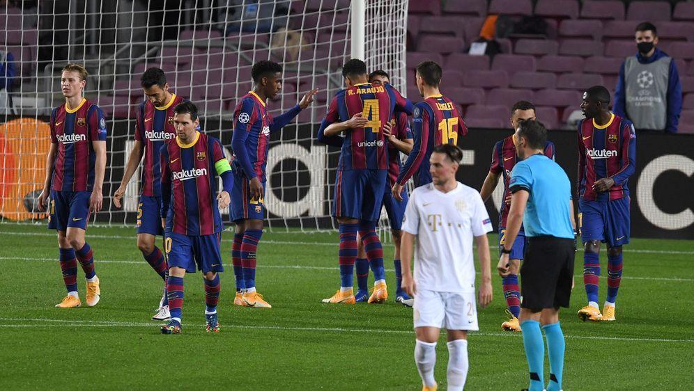 Der FC Barcelona löst seine Auftaktaufgabe und gewinnt gegen Ferencvaros. - Bildquelle: AFPSIDFRANCK FIFE