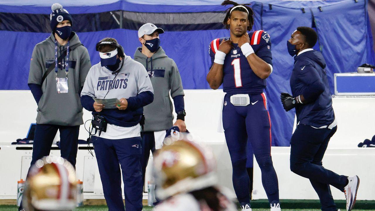 So sah die Welt aus, als die Patriots zuletzt mit 2-4 in die Saison starteten - Bildquelle: imago images/Icon SMI