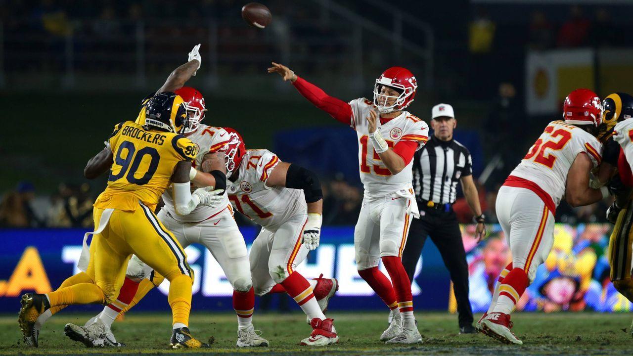 Raman Rooprail: Los Angeles Rams - Kansas City Chiefs - Bildquelle: Imago