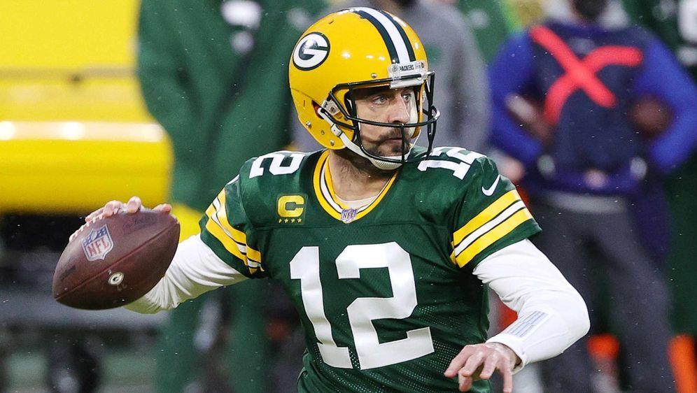 Das bestimmende Thema in der NFL zur Zeit: Aaron Rodgers - Bildquelle: Getty