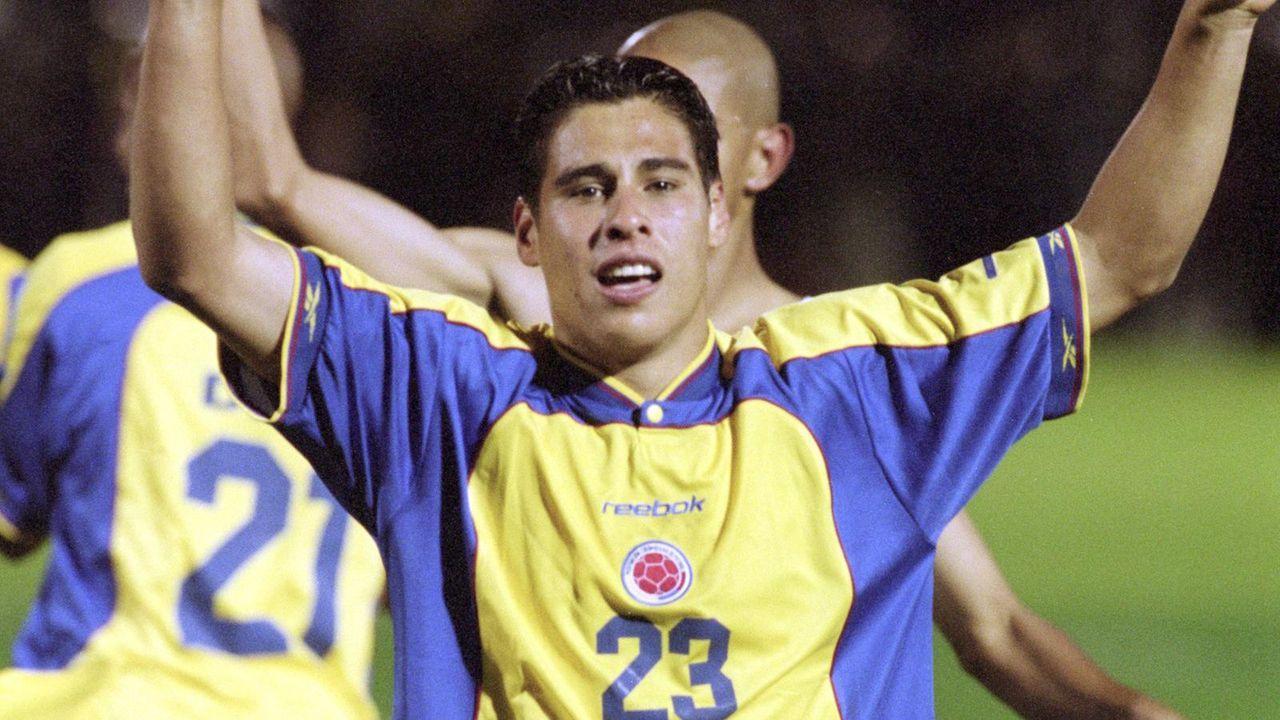 Platz 13: Kolumbien (eine Final-Teilnahme) - Bildquelle: getty