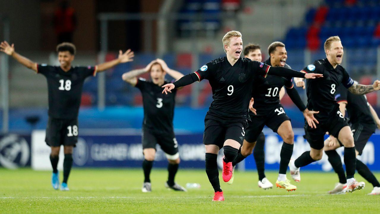 Die deutsche U21-Nationalmannschaft in der Einzelkritik - Bildquelle: imago