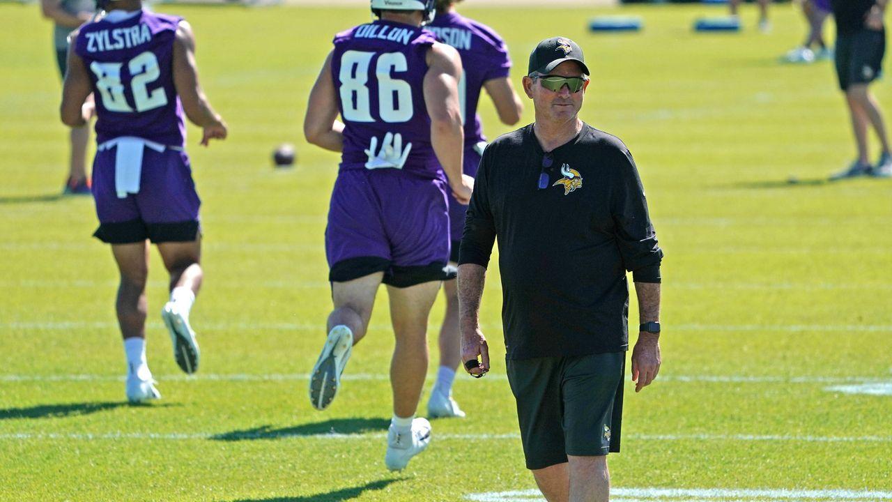 Mike Zimmer (Minnesota Vikings) - Bildquelle: imago images/Icon SMI